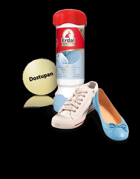 Novi Erdal Dezodorans za cipele,<br /> je dezodorans sa fomulom za<br /> dugotrajnu zaštitu