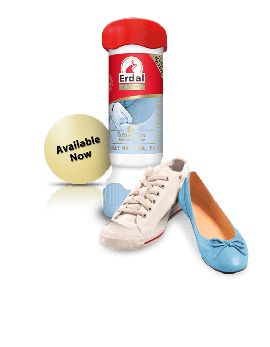 The new Shoe Fresh with a<br> long-term protection formula